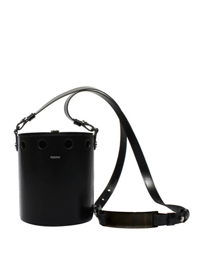 Demi Seau Studded Bucket Bag
