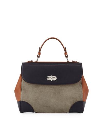 Tiffin 29 Colorblock Top Handle Bag