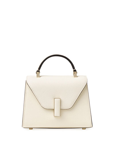 Saffiano Iside Micro Top Handle Bag