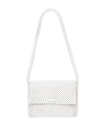 Roz Beaded Shoulder Bag