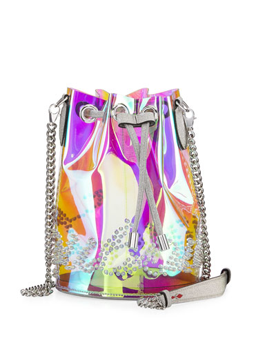 Marie Jane Mini GlitterSunset PVC Bucket Bag
