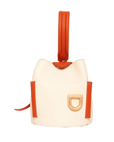 Josh Colorblock Leather Top Handle Bag