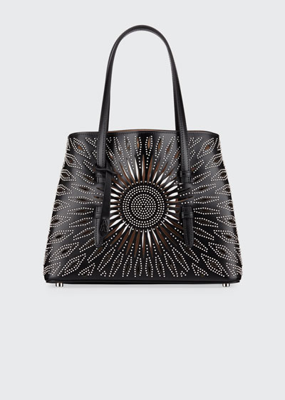 Mina Small Studded Tote Bag