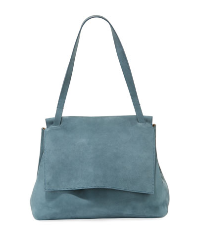 Sidekick Two Suede Shoulder Bag
