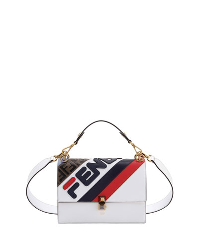 d8eab7be1b Kan I Fendi Mania Striped Shoulder Bag