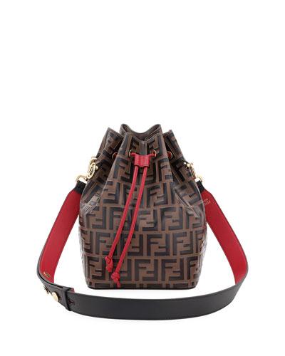 Mon Tresor Grande FF Calf Bucket Bag