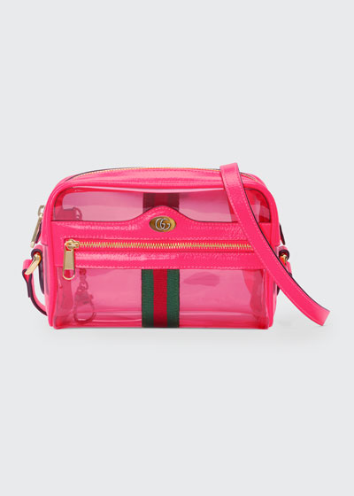 86e59c4a7283 Ophidia Mini See-Through Vinyl Crossbody Bag Quick Look. Gucci