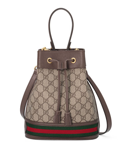 3a6021be13e Ophidia Small GG Supreme Bucket Bag Quick Look. Gucci