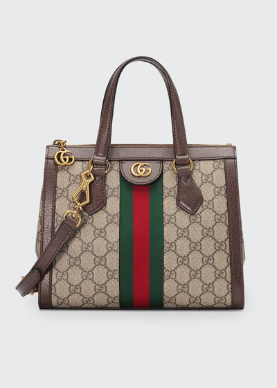 3bd19e076 Ophidia Small GG Supreme Canvas Tote Bag Quick Look. Gucci