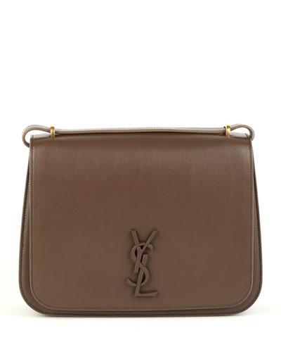 Spontini Large Monogram YSL Leather Crossbody Bag
