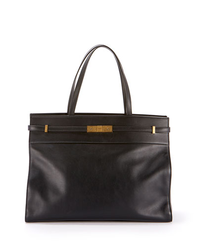 Manhattan Medium Smooth Leather Tote Bag