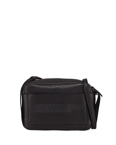 Belle Pebbled Leather Camera Bag