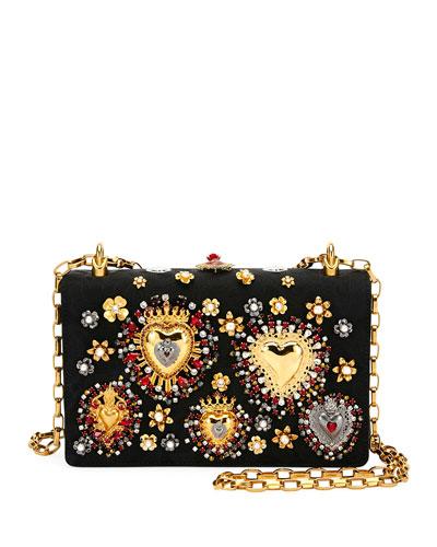Brocade DG Girls Embellished Handbag