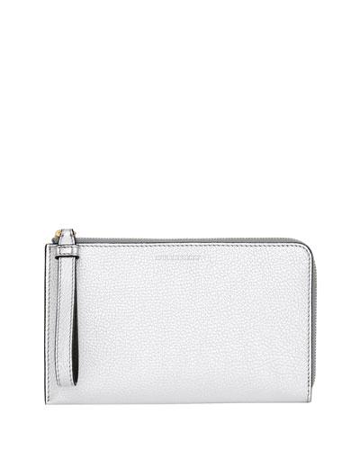 Nolan Metallic Leather Wallet