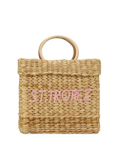 St. Tropez The Tori Top Handle Bag