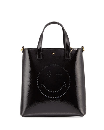 Perforated Wink Shiny Tote Bag