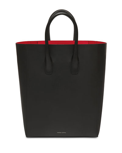 New Smooth Leather Tote Bag