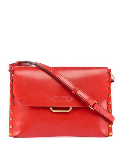 Sinky New Bandoleer Leather Shoulder Bag