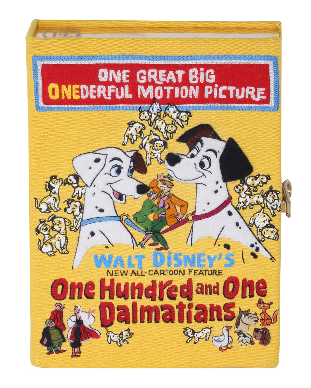 Olympia Le-Tan DALMATIANS BOOK CROSSBODY CLUTCH BAG