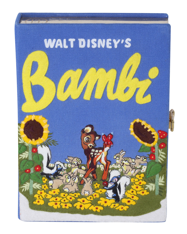 Olympia Le-Tan Crossbody BAMBI BOOK CROSSBODY CLUTCH BAG