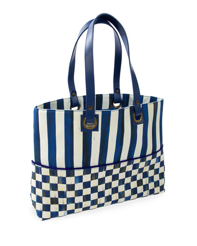 Royal Check Bistro Tote Bag