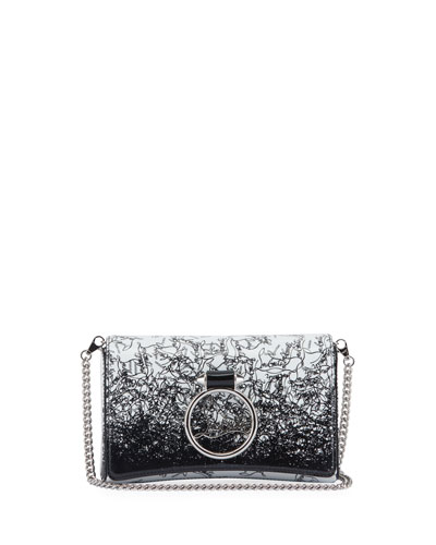 RubyLou Patent Clutch Bag