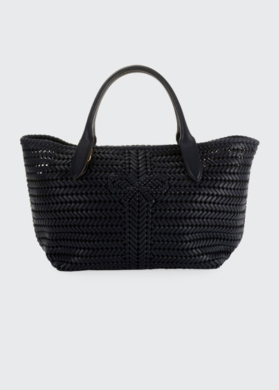 b690fbcfd054 The Neeson Woven Leather Tote Bag