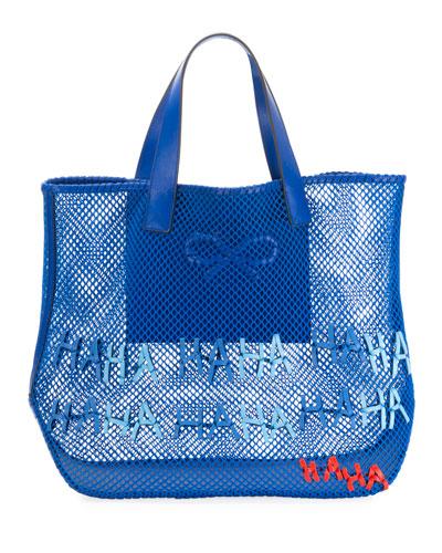 Haha Weave Mesh Tote Bag