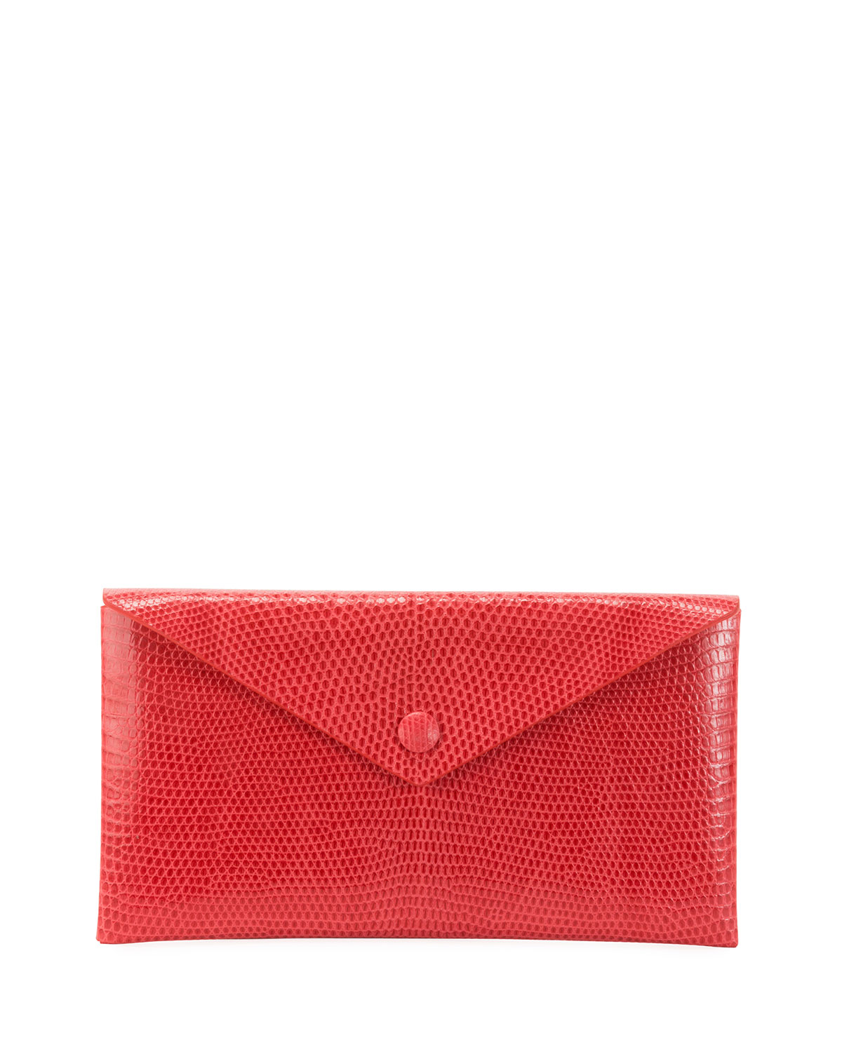 Alaïa Clutch LOUISE LIZARD ENVELOPE CLUTCH BAG