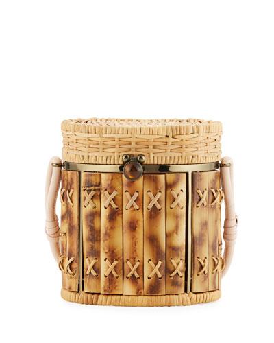 Bamboo Bongo Bucket Bag