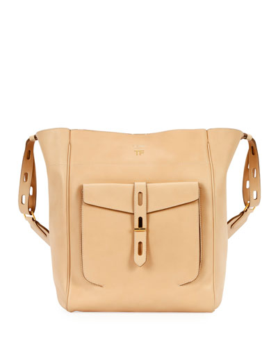 Hollywood Natural Calf Bucket Bag