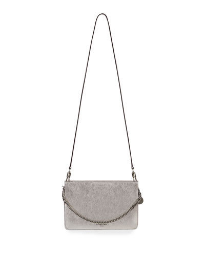 Cross 3 Metallic Leather & Suede Crossbody Bag