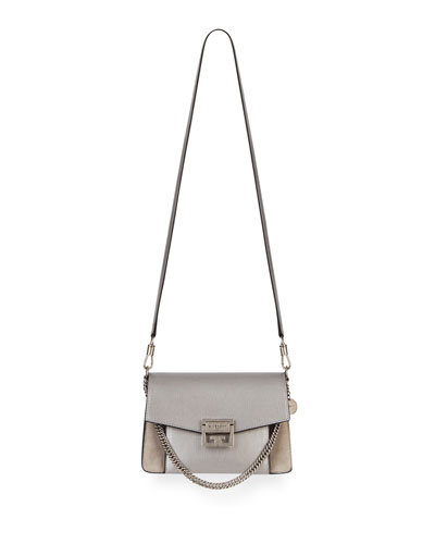 0c7f4a323c GV3 Small Metallic Leather   Suede Shoulder Bag Quick Look. Givenchy
