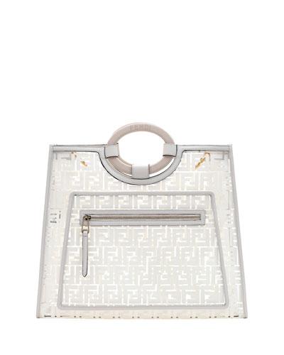 Runaway Large FF PVC Shopper Tote Bag