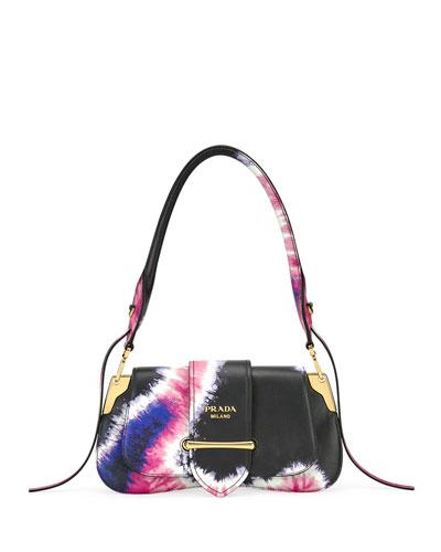 Tie-Dye Prada Sidonie Shoulder Bag