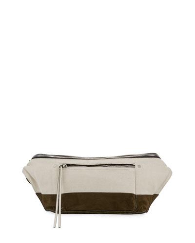 Large Elliot Fanny Pack Belt Bag, Green