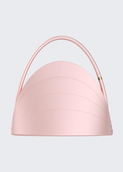 Millefoglie Layered Top-Handle Bag, Pink