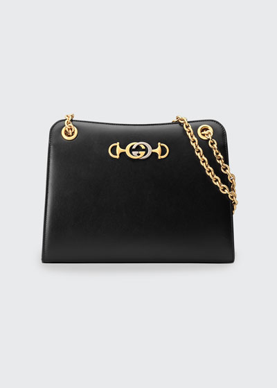 Gucci Zumi Smooth Small Tote Bag