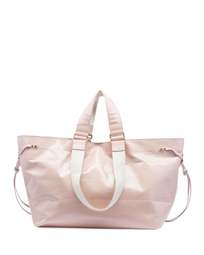 Wardy New Leather Shopper Tote Bag