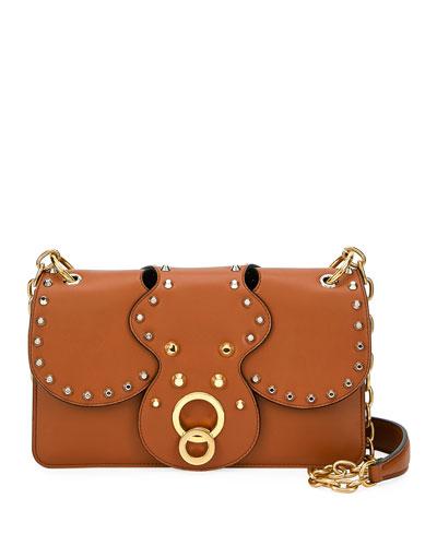 City Calf Studded Shoulder Bag 03f9365cf40a5