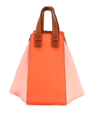 Hammock Small Colorblock Leather Shoulder Bag