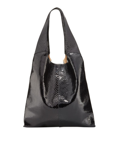 Grandshopper Python Large Tote Bag