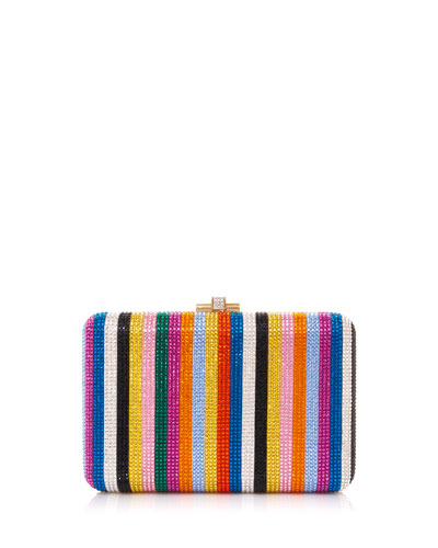 Candy Stripes Slim Clutch Bag