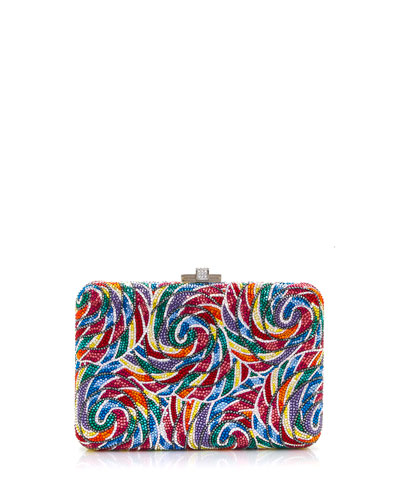 Whirly Pop Slim Clutch Bag