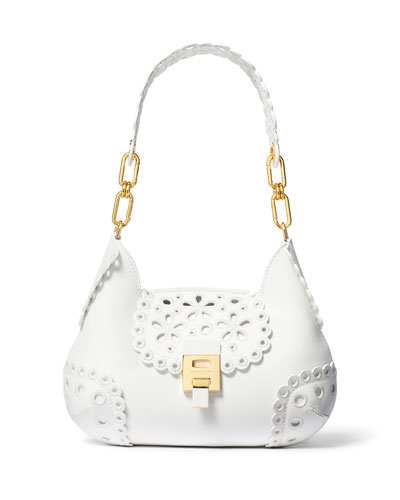 5293e26501 Bancroft Embroidered Shoulder Bag Quick Look. Michael Kors