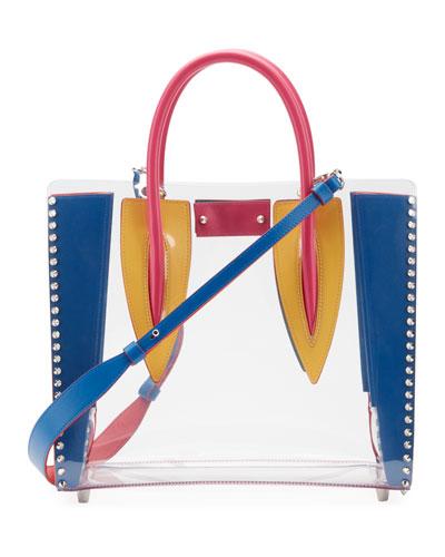 Paloma Mini PVC Calf Tote Bag