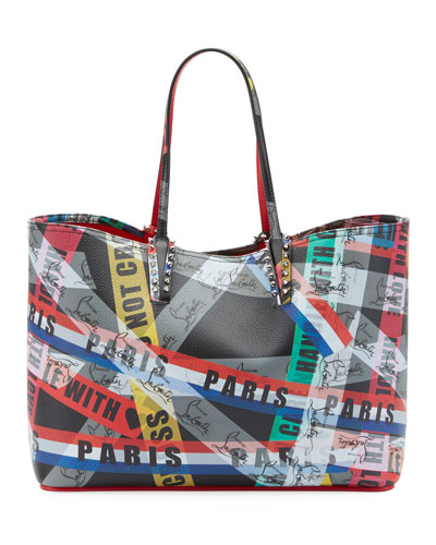 Cabata Calf LoubiBallage Tote Bag