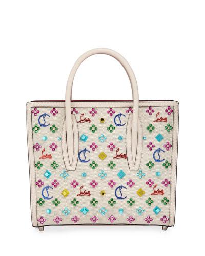 Paloma Medium Canvas Tote Bag