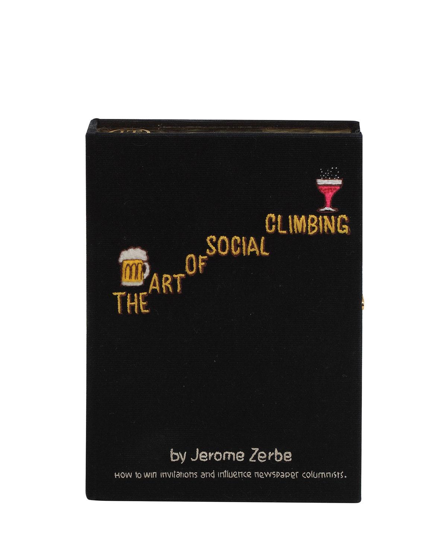 Olympia Le-Tan THE ART OF SOCIAL CLIMBING BOX CLUTCH BAG