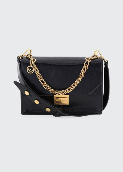 Grace Kan Calf Matte Shoulder Bag